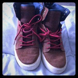 Boys Supra shoes size 6
